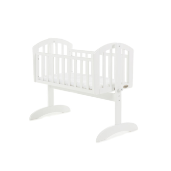 obaby sophie swinging crib white