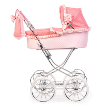 roma annie dolls pram pink