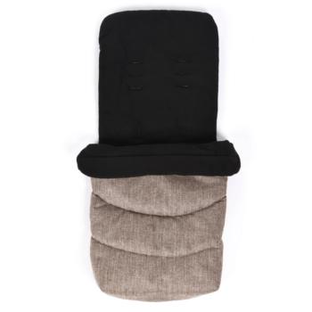 roma footmuff tweed