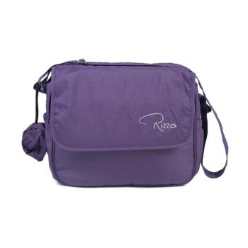 roma rizzo changing bag grape
