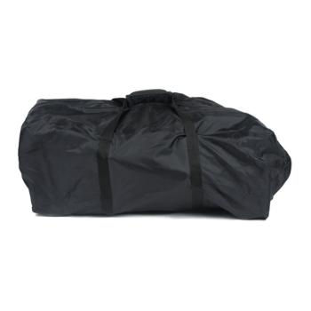 roma rizzo travel bag - black