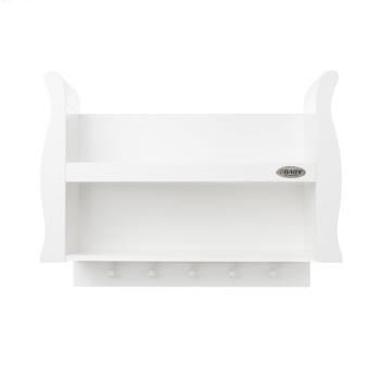 stamford shelf white front view