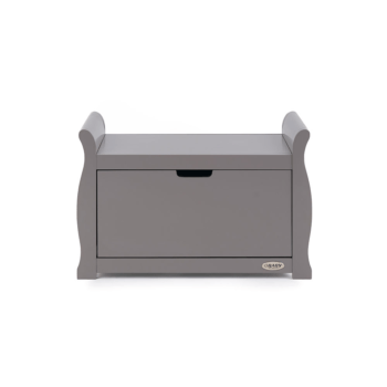 stamford toy box taupe grey