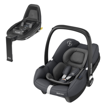 Maxi-Cosi Tinca i-size car seat essential graphite and isofix base