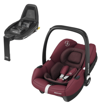 Maxi-Cosi tinca i-size car seat essential red and base