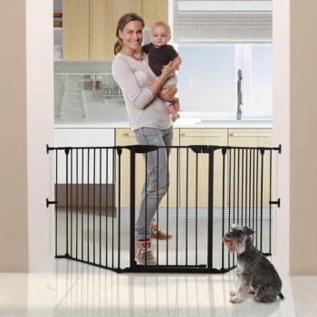 dreambaby newport adapta gate black dog