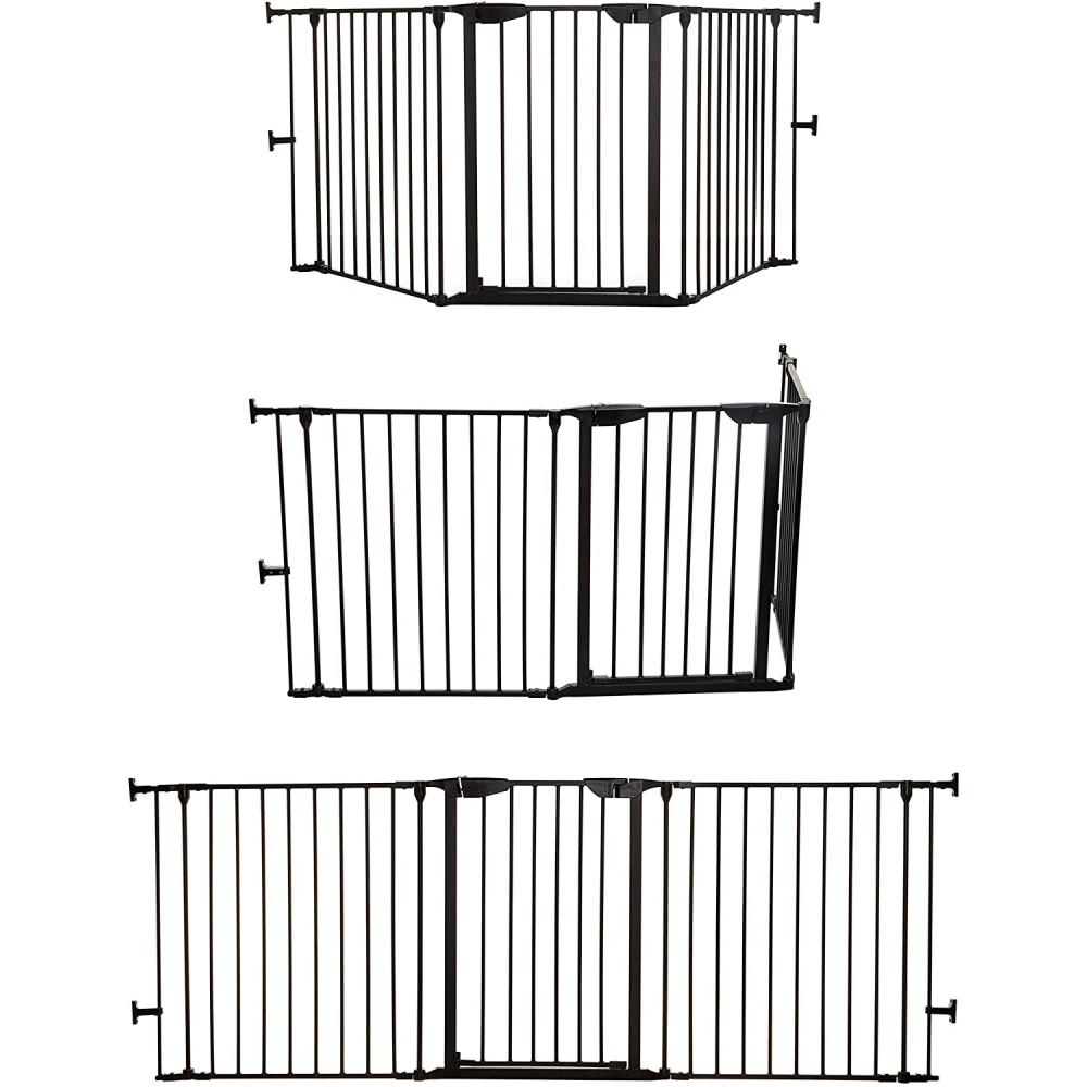 dreambaby newport adapta gate black positions