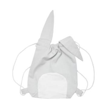 fabelab animal string bag pirate bunny