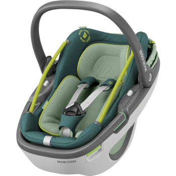 maxi cosi coral i-size car seat neon green