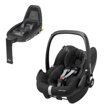 maxi cosi pebble pro i size car seat essential black and familyfix2