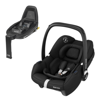 maxi cosi tinca i-size car seat essential black and base