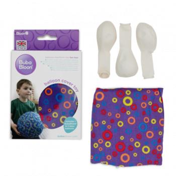purple circle packaging