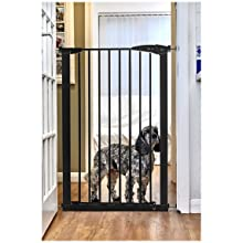 Extra Tall Pet Gate Perfect for Large Dogs - Black