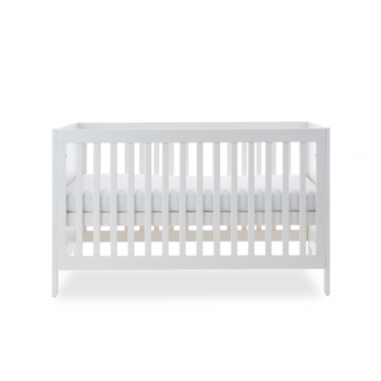 Ickle Bubba Grantham 3 Piece Set - Brushed White cot bed middle