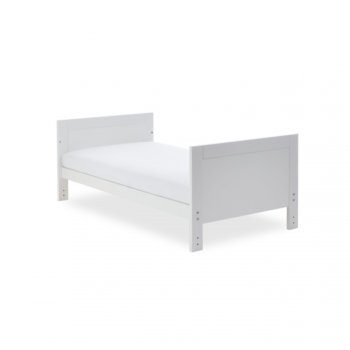 Ickle Bubba Grantham 3 Piece Set - Brushed White toddler bed