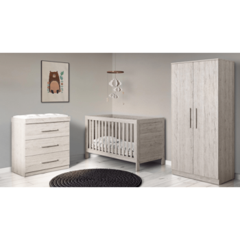 Ickle Bubba Grantham 3 Piece Set - Grey Oak