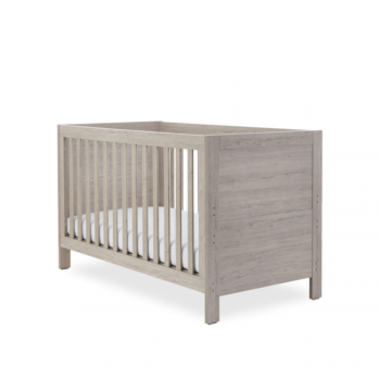 Ickle Bubba Grantham 3 Piece Set - Grey Oak cot bed