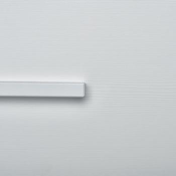 Ickle Bubba Grantham Mini 3 Piece Set - Brushed White double wardrobe zoom