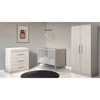 Ickle Bubba Grantham Mini 3 Piece Set - Grey Oak