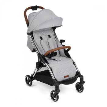 Ickle Bubba Gravity Max Auto Fold Stroller – Silver Grey