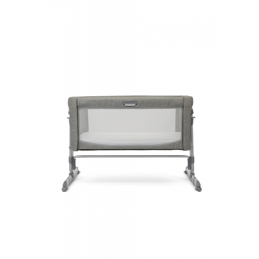 Joie Roomie Glide Side Sleeping Crib - Foggy Blue down up
