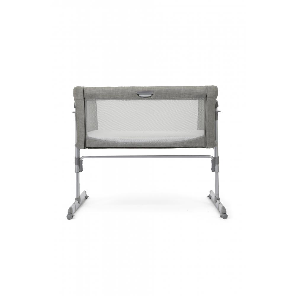 Joie Roomie Glide Side Sleeping Crib - Foggy Blue up back