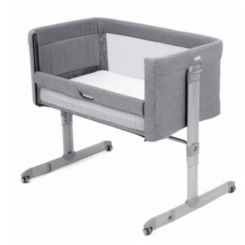 Joie Roomie Side Sleeping Crib - Grey Flannel