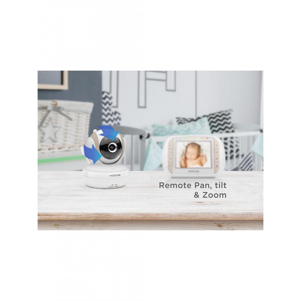 """Motorola MBP35XLC 3.5"""" Video Baby Monitor"""