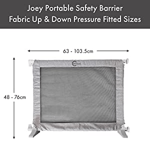 Callowesse Joey Portable Barrier Dimensions