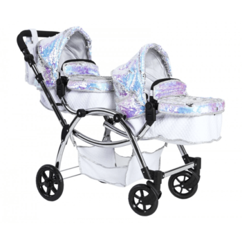 Roma Polly Twin Dolls Pram