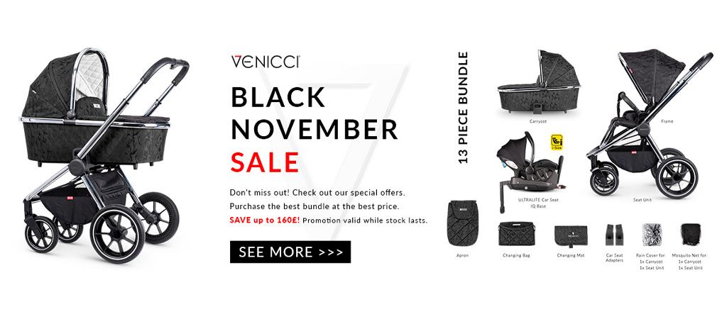 Venicci Black November