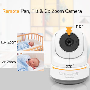 Callowesse SmartView Remote Pan, Tilt & Zoom Camera