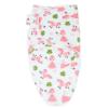 Callowesse Newborn Baby Swaddle - 0-3 Months - Pink Unicorns