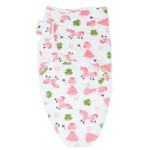 Callowesse Newborn Baby Swaddle - 0-3 Months - Pink Unicorns