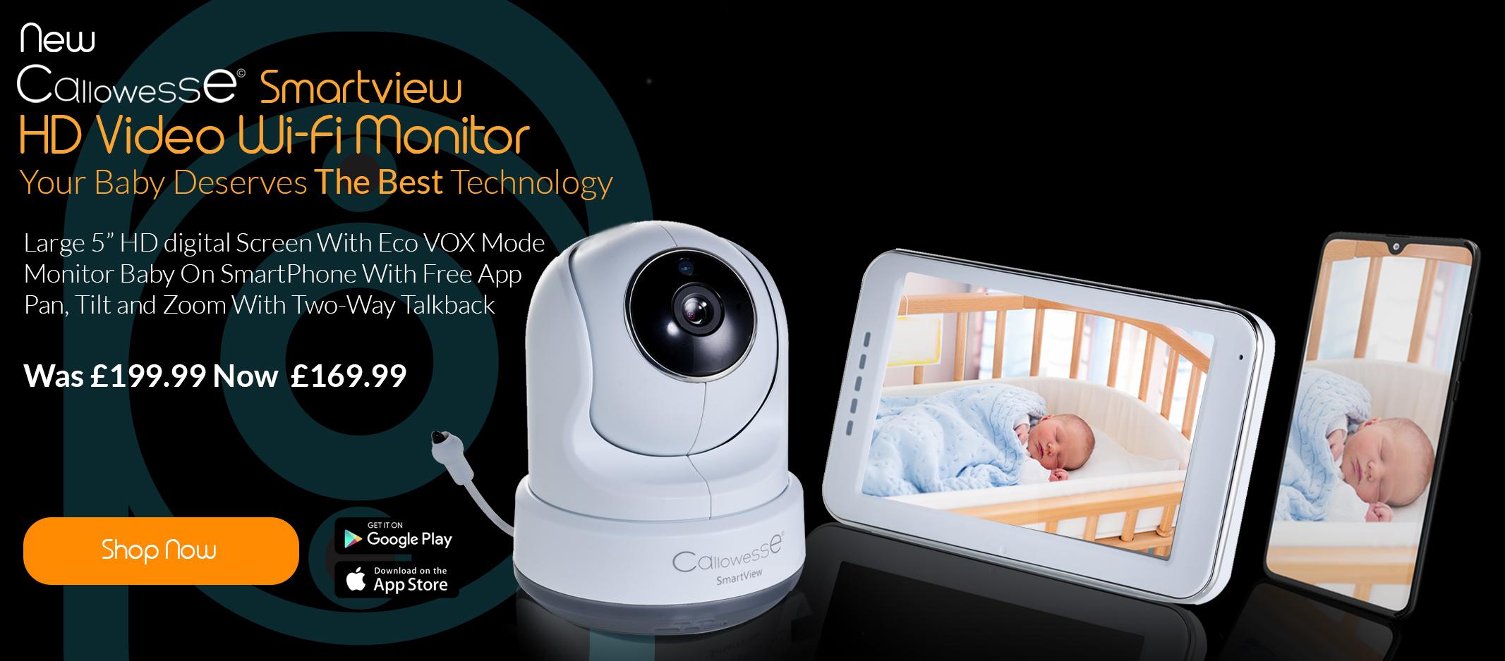 Callowesse Smartview HD WiFi Monitor