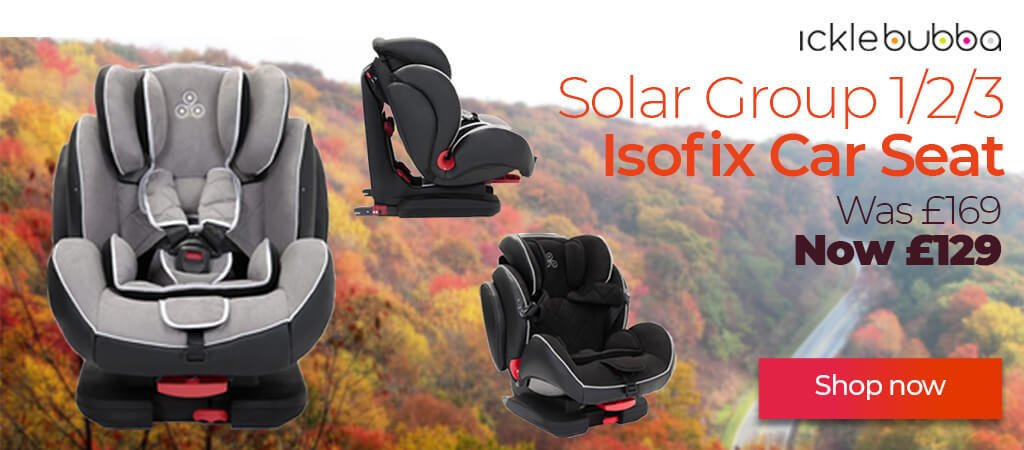 Ickle Bubba Solar Group Car Seat