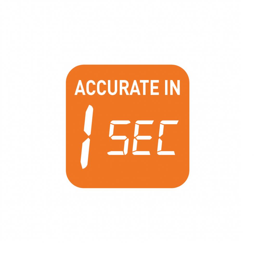 1 second alert