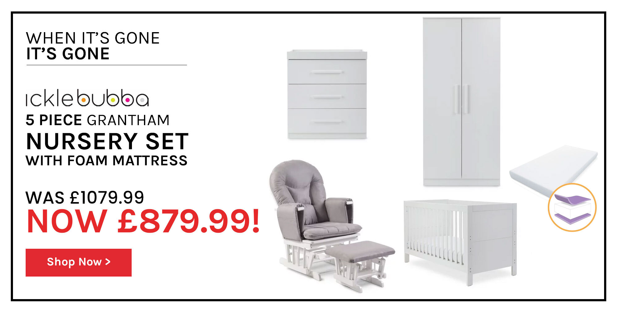 Ickle Bubba Offer Black Friday