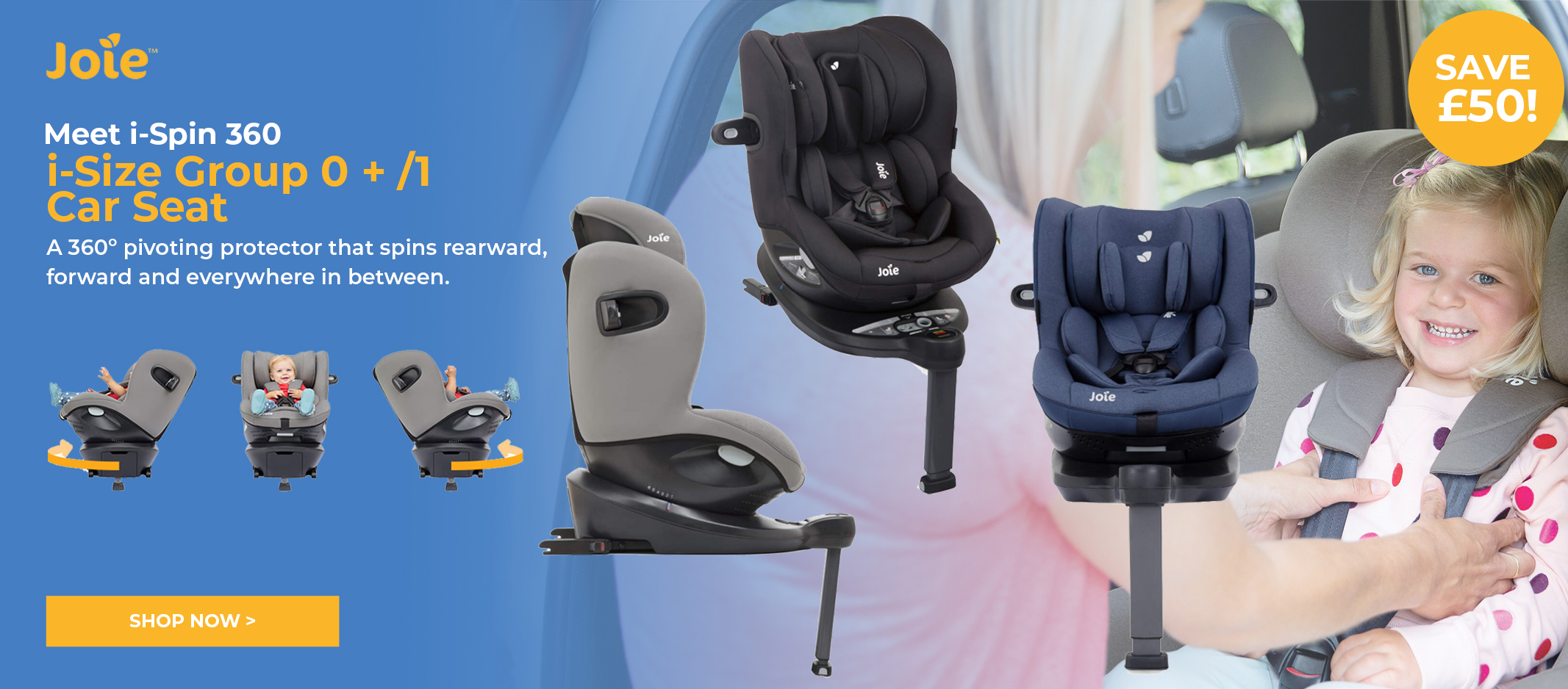 Joie i-Spin 360 Car Seat
