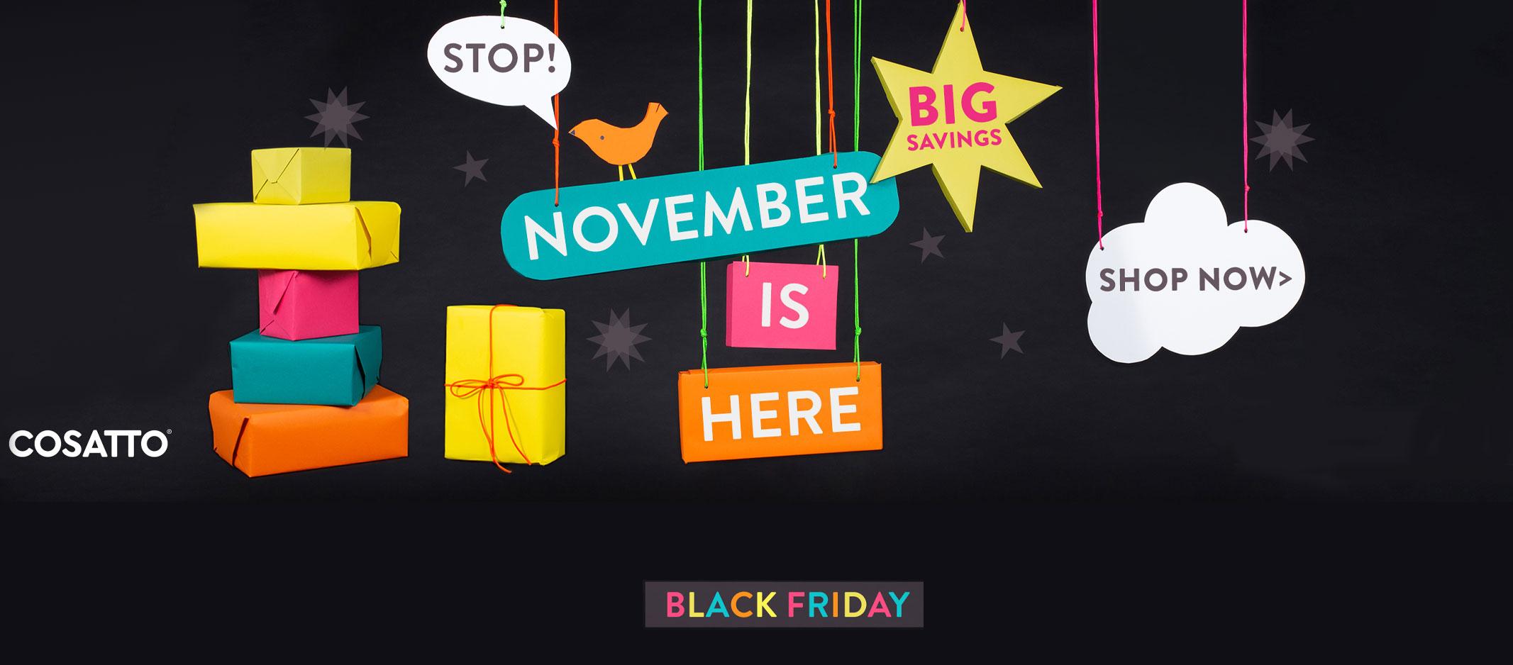 Cosatto Black November