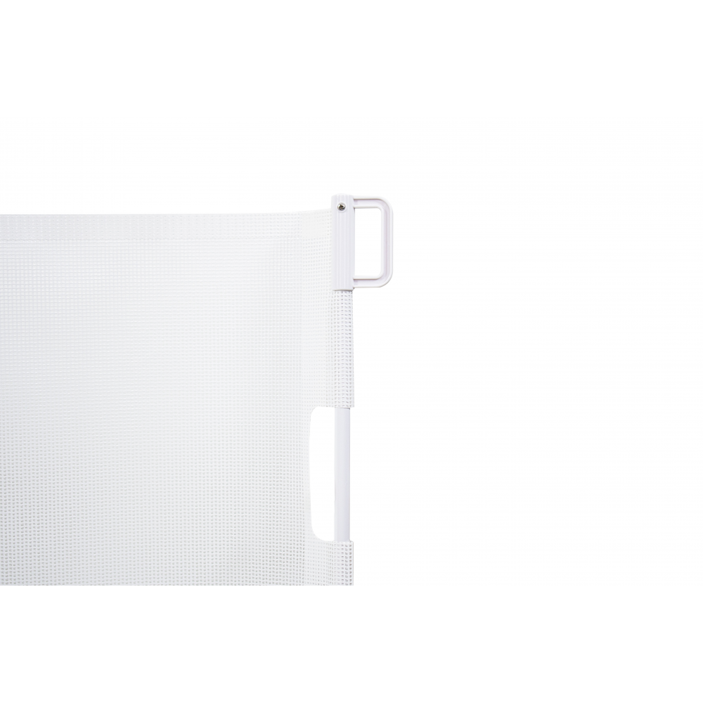 Callowesse© Air2 Retractable Stair Gate 0-160cm – White- Fixture