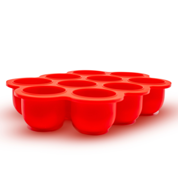 Callowesse Silicone Food Storage - Red