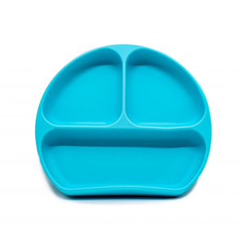 Callowesse Silicone Suction Plate - Blue