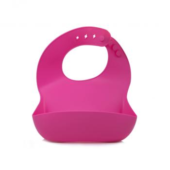 Callowesse Silicone Bib - Pink