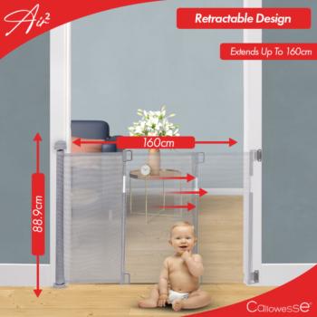 Air 2 Retractable Stair Gate