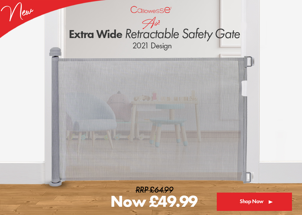 Air 2 Retractable Safety Gate