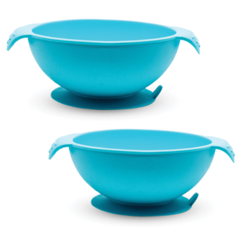 Callowesse Silicone Bowls 2 Pack - Blue