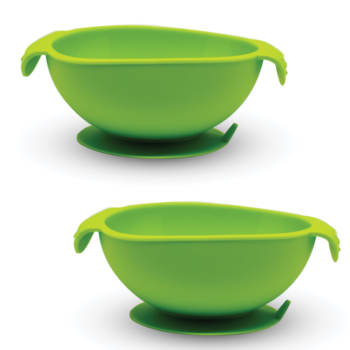 Callowesse Silicone Bowls 2 Pack - Green