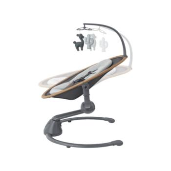 Maxi-cosi Cassia Rocker- Essential Graphite- Side View with recline