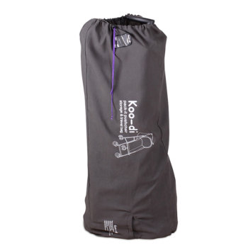 Koo-Di Stroller Travel and Storage Bag - Grey and Purple